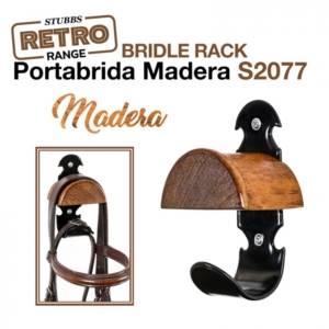 PORTABRIDA MADERA STUBBS RETRO BRIDLE RACK S2077 300x300