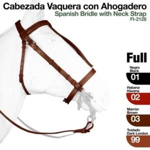 Cabezada Vaquera Con Ahogadero 2128 2 300x300